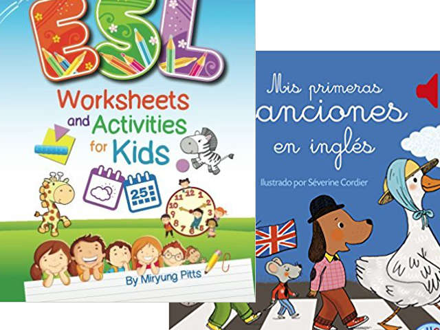Libros para aprender inglés para niños