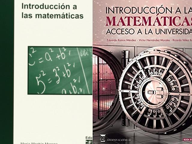 libros para aprender matemática